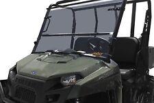 Quadboss TUCK100-0007 - UTV Folding Windshield 2009-2012 Kawasaki Mule 4010 4x4