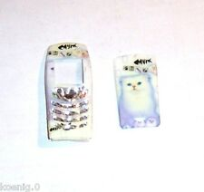 Cover f Nokia 6100, Airbrush mit leuchtende Katze,