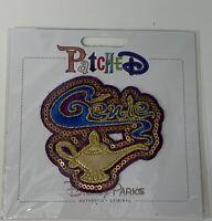 """Disney Parks Authentic Original """"Patched"""" Genie Bottle Sequin Trim New~A"""