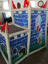 Large kids tent playhouse Knights and dragons castle