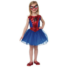 Kids Spider Girl Costume Superhero Tutu Dress  Marvel Comics Size Small 4-6