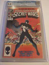 Secret Wars 8 CGC 9.8 1st Spider-man Black Costume Alien Symbiote VENOM w/pages