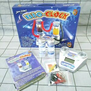 John Adams Action Science VTG Digital Bio Clock Educational Toy