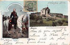 RETRATO de MAXIMILIANO~CAPILLA en MEMORIAL QUERSTARO MEXICO POSTCARD 1920s