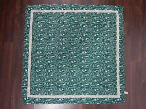 Jacob Cohen cotton silk green lightweight small scarf