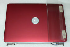 NEW GENUINE DELL INSIRON 1525 1526 LID TOP COVER MATT RED HINGES WIRES TY059
