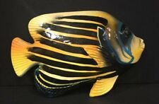 Decorative Tropical Fish Figurine Wall Mount Made In China