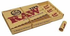 Raw Natural Unrefined Pre-Rolled Tips - Pack of 21