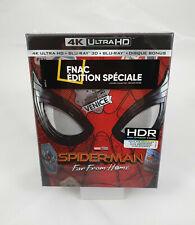 Spider-Man Far From Home Coffret Edition Spéciale Fnac Steelbook 4K Ultra HD