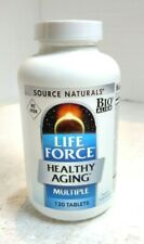 Source Naturals LIFEFORCE HEALTH AGING 120 TAB EXP 09/21