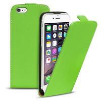 Flip Case Apple iPhone 6 6S Plus Hülle Pu Leder Klapphülle Handy Tasche Cover