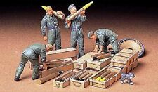 Tamiya America [TAM] 1/35 German Tank Ammo Loading Crew Plastic Model Kit 35188