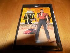 ARMY OF ONE Dolph Lundgren Action Crime Thriller DVD SEALED NEW