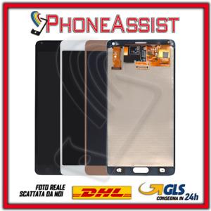DISPLAY LCD TOUCH SCREEN Per Samsung Galaxy Note 4 N910 SM-N910F SCHERMO VETRO