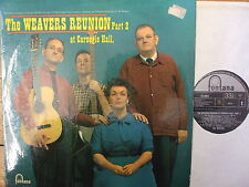 TFL 6054 The Weavers - Reunion At Carnegie Hall Part Two - 1965 LP