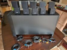 Bose Acoustimass 15 series ii with speaker stands