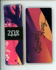 ZOX Silver Strap SPIRITED AWAY Wristband with Card Reversible