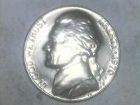 1970 D Jefferson Nickel  !!  - Free Shipping !! GREAT STEP DETAIL !! TAKE A LOOK