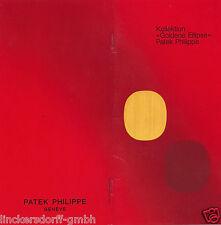 PATEK PHILIPPE KATALOG - ÜBERSICHT GOLDENE ELLIPSE MODELLE - 1970/1980er JAHRE