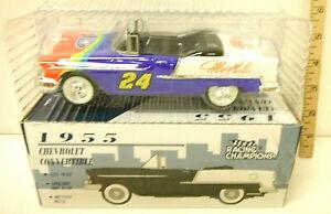 Racing Champions 1955 Chevrolet Convertible Bank Die Cast 1/25 Jeff Gorden NIB