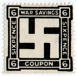 (I.B-CK) Cinderella Collection : National War Savings 6d