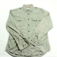 Express Men's Casual Long Sleeve Shirt Size Medium