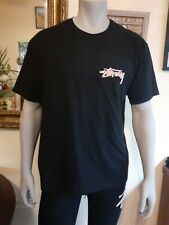 Stussy Oasis T-Shirt Tee in Black in size Xl-L-S