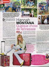 C- Coupure de Presse Clipping 2009 (1 page) Miley Cyrus Hannah Montana