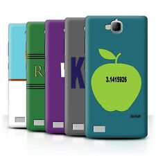 STUFF4 Back Case/Cover/Skin for Huawei Honor 3C/Catch Phrases