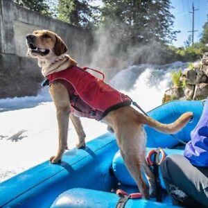 KURGO DOG LIFE JACKET SURF N TURF RED ALL SIZES
