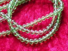 Glasperlen Grün 4 mm ca.80 Stck Perlen Schmuck Basteln B1
