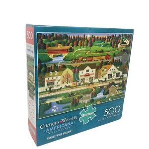 Charles Wysocki Americana 1000 Piece Jigsaw Puzzle Yankee Wink Hollow By Buffalo
