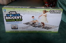 """SMART PLANET """"World's Biggest Piano Mat"""" Jumbo Touch Sensitive Keyboard Playmat"""