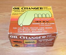Vintage Jack's Power Pump: Oil Changer (15-5180) Electric Rotary Oil Extractor