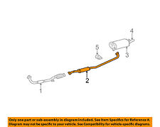 TOYOTA OEM 02-06 Camry 2.4L-L4 Exhaust System-Center Pipe 174200H010