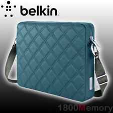 "Belkin Crossroads Quilted Sleeve Carry Bag Blue Case for 10.2"" Laptop Notebook"