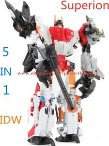New Deformabl HZX Superion 5 In 1 Action Figure Upgrade Version KO In Stock 12""
