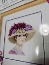 SCHEMA PUNTO CROCE ELEGANT LADY HERITAGE CRAFTS CROSS STITCH CHART PATTERN
