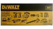 Dewalt Power Tool Set Cordless Hand Tools 20v Combo Piece Kit Shop Garage 10 Pcs