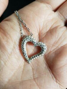 Swarovski Crystal Open Heart Necklace