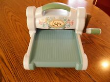 Sizzix Big Shot Embossing Machine with Platform - Aqua Color