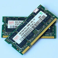 Memoria Ram KIT 4Gb (2x 2Gb) PC2-5300s DDR2-667MHz SoDimm per portatile Notebook