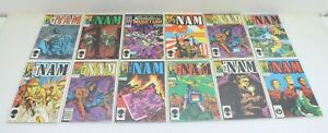 Marvel Comics The Nam (11 Issues) & Strikeforce Morituri (1 Issue) Lot of 12
