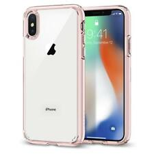 iPhone X Case Genuine Spigen Ultra Hybrid Bumper Slim Thin Hard Cover for Apple Rose Crystal