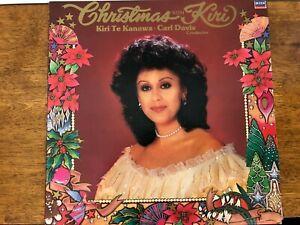 Christmas with Kiri Vinyl Vintage Kiri Te Kanawa