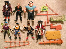 1991 Mattel - Lot of HOOK Figures - Peter Pan, Lost Boys, Pirates, Captain Hook