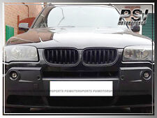 Glossy Front Kidney Replacement Grille fit BMW 04-06 E83 X3 Pre-Facelift SUV