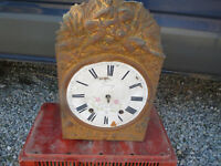 ANTIQUE MOVEMENT PENDULUM CLOCK COMTOISE CLOCK OLD CLOCK OROLOGIO for coin