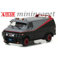 GREENLIGHT 84072 HOLLYWOOD THE A TEAM 1983 GMC VANDURA 1/24 DIECAST GREY / BLACK