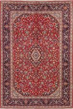 Vintage Floral Ardakan Oriental Area Rug Hand-Knotted Home Decor Carpet 8'x11'